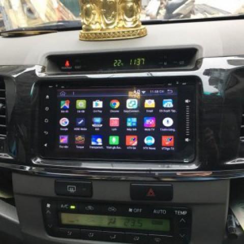 Đầu DVD ô tô cho xe Toyota Fortuner