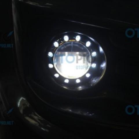 Độ đèn gầm Osram loại to cho Fortuner 2014