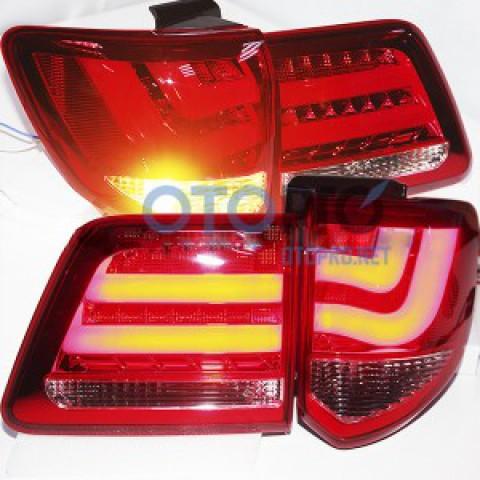 Đèn hậu độ LED nguyên bộ xe Fortuner 2012-2015 mẫu YZ