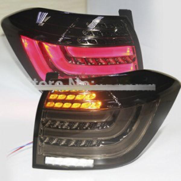 Đèn hậu độ LED nguyên bộ xe Highlander 2012-2013 đen khói