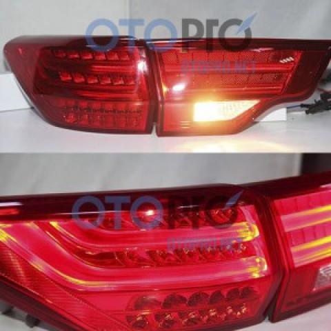 Đèn hậu độ LED nguyên bộ xe Highlander 2014-2015 mẫu BMW