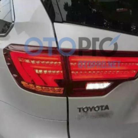 Đèn hậu độ LED nguyên bộ xe Highlander 2014-2015 mẫu Lexus