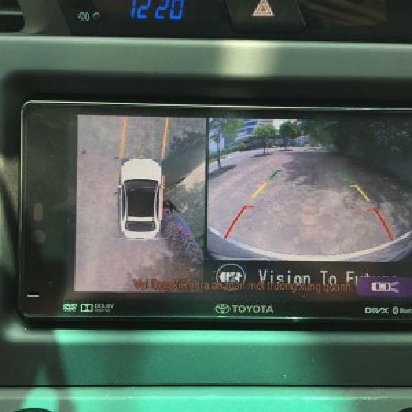 Camera 360 cho xe Toyota Innova