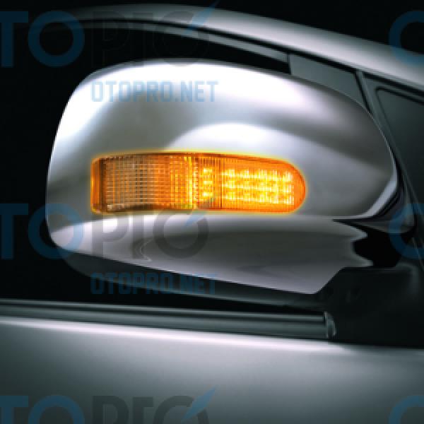 Ốp gương có đèn cho xe Toyota Innova 2014
