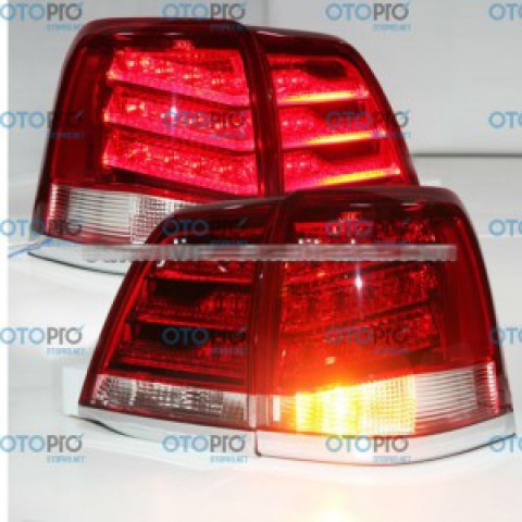 Đèn hậu độ LED nguyên bộ xe Toyota Land Cruiser 2008-2013 FJ200 LC200