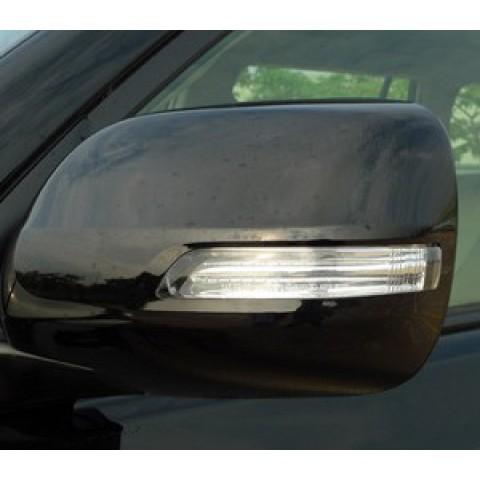 Gương chiếu hậu chỉnh điện, gập điện, tích hợp đèn báo rẽ LED cho xe Land Cruiser