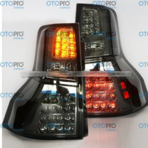 Đèn hậu độ LED nguyên bộ xe Toyota Prado 2009-2013 2700 FJ150 màu khói