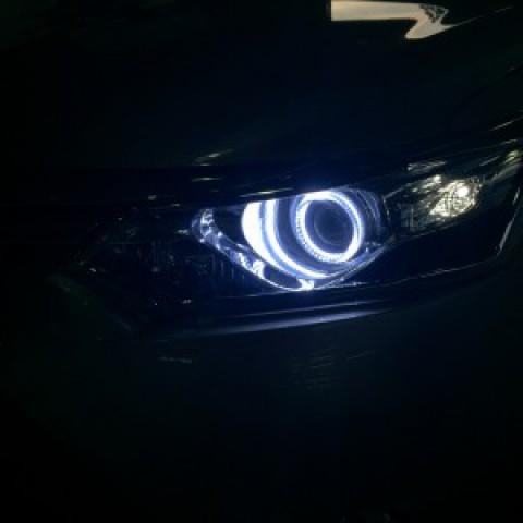 Toyota Vios G 2016 lắp vòng angel!