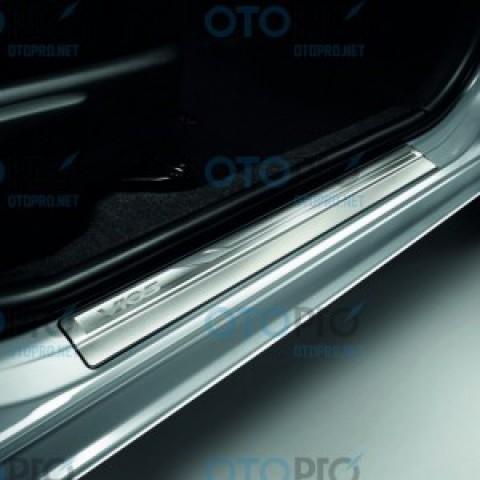 Nẹp bước chân, ốp bậc lên xuống không đèn cho xe Vios 2014