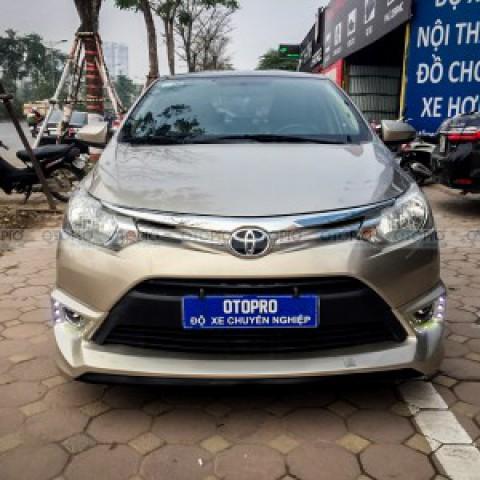 Toyota Vios 2016-17 độ bodykit Type R nhập Thái