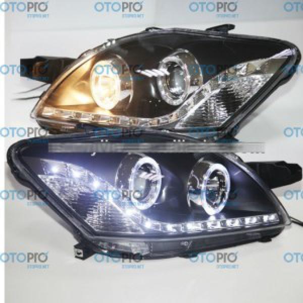 Đèn pha độ LED nguyên bộ xe Toyota Vios 2008-2012 AE