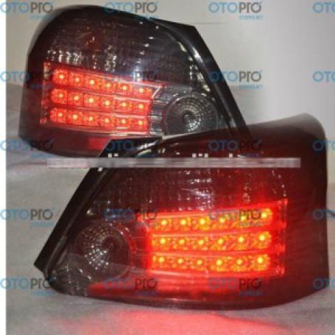 Đèn hậu độ LED nguyên bộ xe Toyota Vios 2008-2010 màu khói