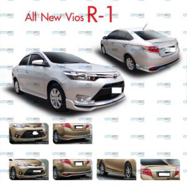 Bodylip cho Vios 2014-2016 mẫu R1 nhập khẩu Đài Loan