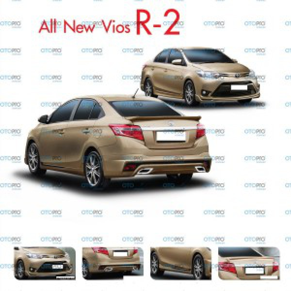 Bodylip cho Vios 2014-2016 mẫu R2 nhập khẩu Đài Loan