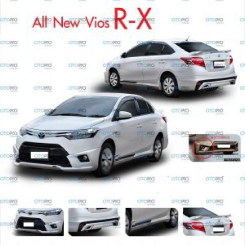 Bodylip cho Vios 2014-2016 mẫu RX nhập khẩu Đài Loan