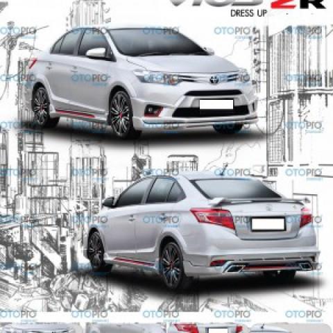 Bodylip cho Vios 2014-2016 mẫu ZR nhập khẩu Thái Lan