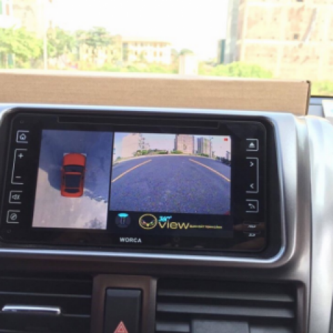 Camera 360 cho xe Toyota Vios