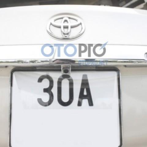 Lắp camera lùi, màn hình trên gương cho xe Vios 2015