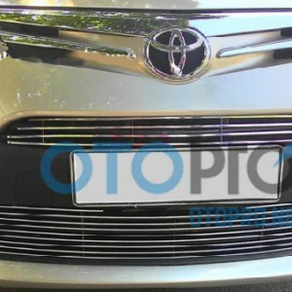 Mặt ca lăng cho xe Toyota Vios 2014-2015 kiểu thanh ngang