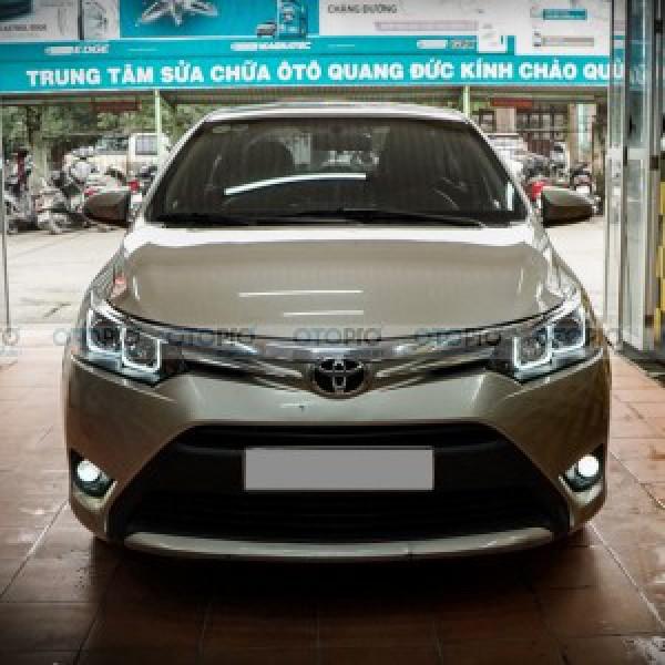 Toyota Vios 2017 lên bi gầm GT Taiwan, đèn pha LED nguyên bộ