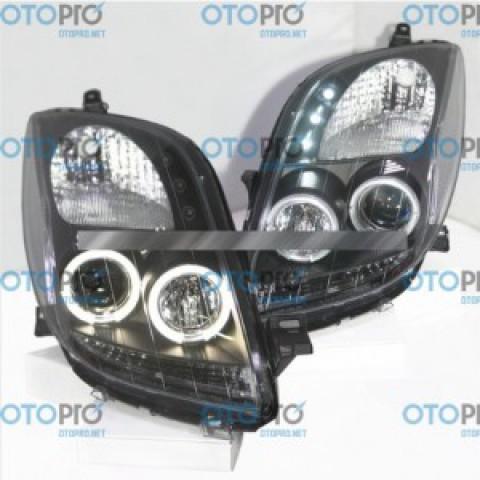 Đèn pha LED nguyên bộ cho Toyota Yaris 2006-2010 mẫu CHO