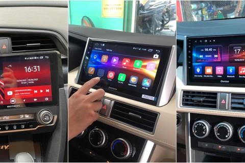 Top 3 thương hiệu màn hình Android cho ô tô tốt nhất hiện nay
