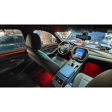 VinFast LUX SA độ LED viền nội thất