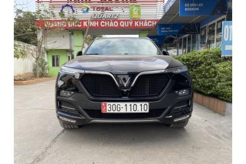 Mặt ca lăng President cho xe VinFast LUX SA màu đen