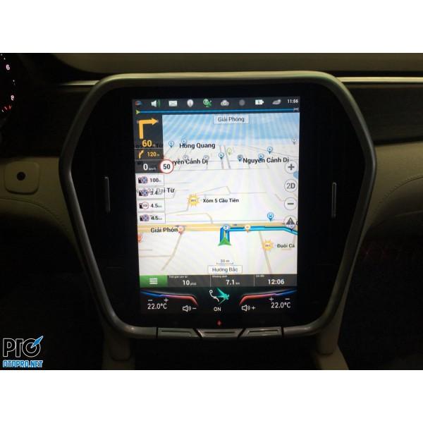 VinFast LUX SA nâng cấp màn hình android