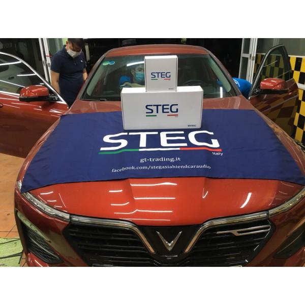 VinFast LUX A nâng cấp loa cánh STEG, loa trung tâm STEG