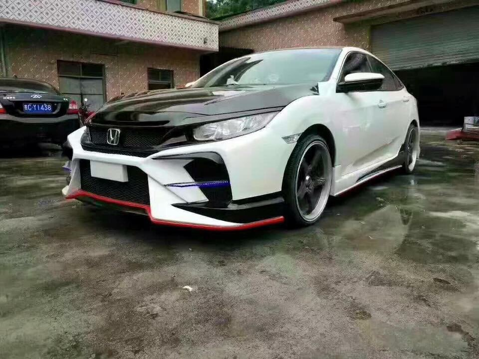 Body Kits Honda Civic 2017 Mẫu Tithum